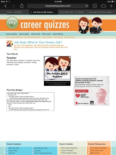 Careers - Ms  S' Class Website